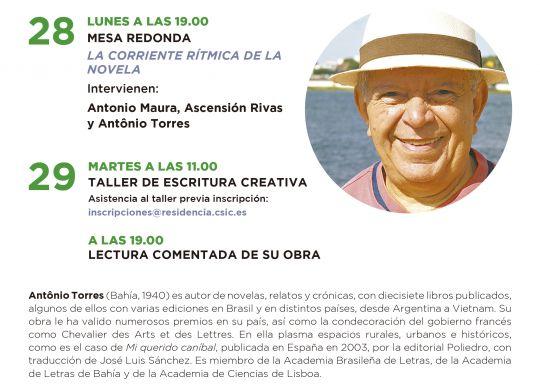 191028-29 Escritor en RdE Antonio Torres